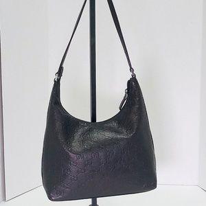 Gucci Black Leather Hobo Shoulder Bag